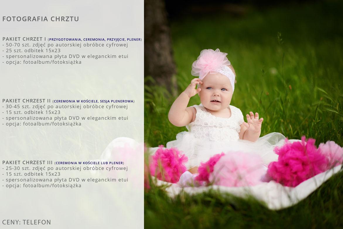 Oferta fotografii chrztu.