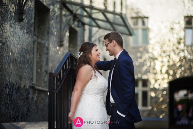 Zdjęcia plenerowe sesji ślubnej w Aleji Róż na Piotrkowskiej.