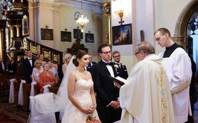Zdjęcia z przysięgi małżeńskiej.