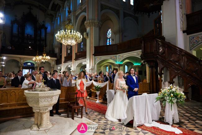 Ślub kościelny ulica Sienkiewicza.
